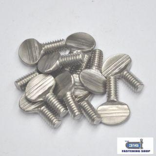 Thumb Screws Stainless Steel