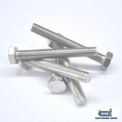 Metric Hex Set Screws Stainless