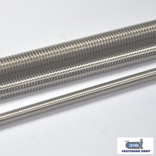 Metric All Thread Stainless Steel