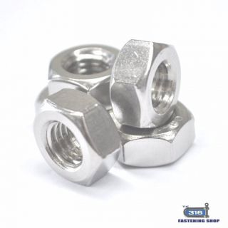 Metric Hex Nuts Stainless