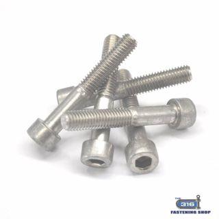 M2.5 Socket Cap Screws Stainless Steel