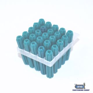 W/PLUG PVC FRAME GREEN 7mmx50 x 20