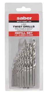 Saber Refill Drill Set Metric 12pce