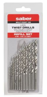 Saber Refill Drill Set Imperial 13pce