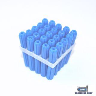 W/PLUG PVC FRAME BLUE 8mmx50 x 20