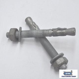 THROUGH BOLT GAL M10x90 - 20