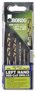 HSS Cobalt Left Hand Jobber Drill Set