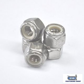 Imperial Nylock Nuts Stainless Steel