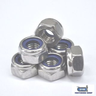 Nut Nylock M8 316 x 1