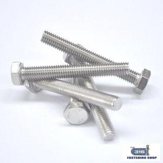 Hex Set Screw M12 x 90 304 x 1