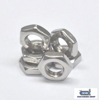 Imperial Hex Stud Nuts Stainless Steel