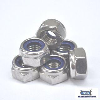 Nut Nylock M30 316 x 1