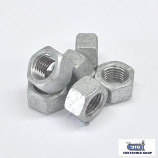 Metric Hex Nuts Gal
