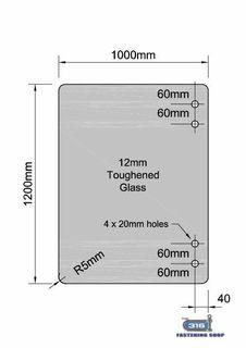Master Range Hinge Glass Panels