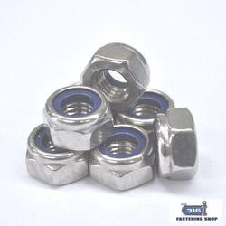 Nut Nylock M5 304 x 100