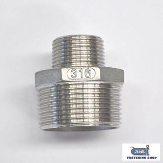 Reducing Nipples Stainless Steel