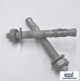 THROUGH BOLT GAL M12x80 - 20