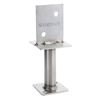 Centre Blade Post Support Stainless