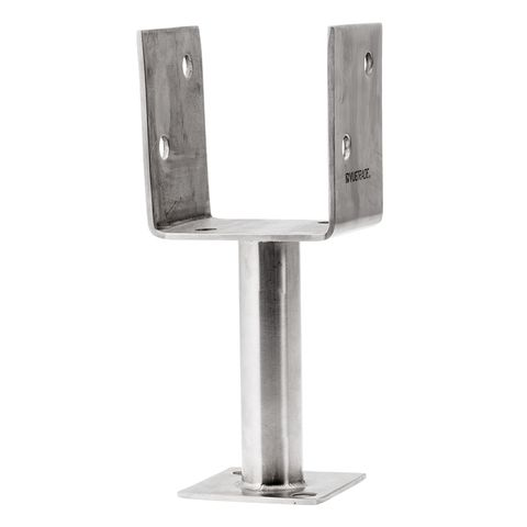 Full Stirrup Post Support Stainless