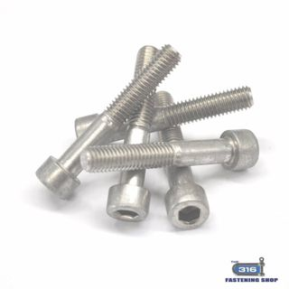 M2 Socket Cap Screws Stainless Steel