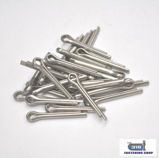 M0.8 Split Pins Stainless Steel