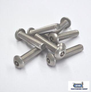 Metal Thread Button Socket Post Head Screw