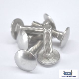 5\16 Cup Head Bolts Stainless Steel