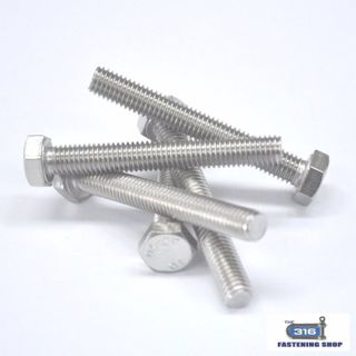 M10 Hex Set Screws Stainless Steel