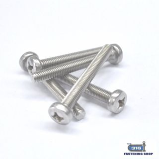 M6 Metal Thread Pan Phillip Head Screws