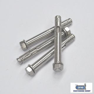 Sleeve Anchors with Nut Stainless Steel