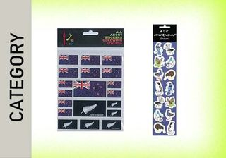 NEW ZEALAND STICKERS
