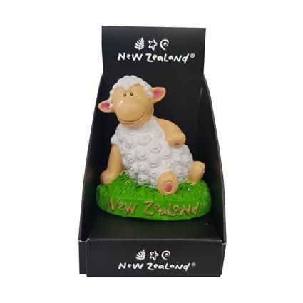 FIGURINE NZ PLAYFUL SHEEP^