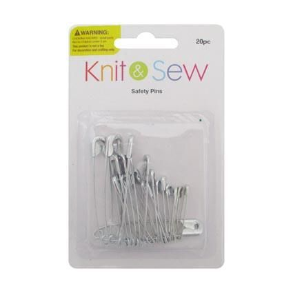 SAFETY PINS 20PC