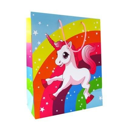 GIFT BAG LARGE UNICORN