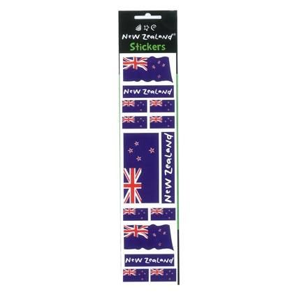LASER STICKER NZ FLAG