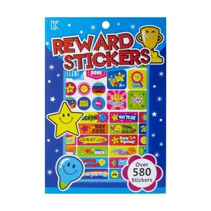 STICKER PAD REWARD STARS
