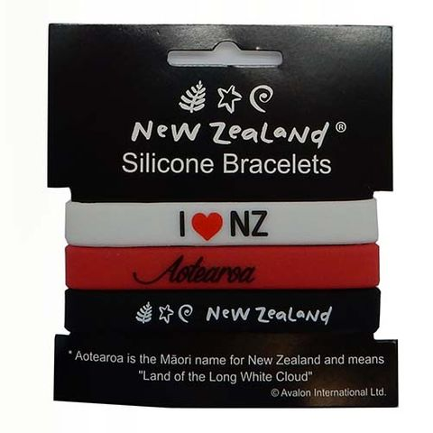 BRACELET SILICONE NZ 3PC