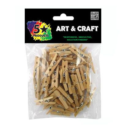 PEGS NATURAL SMALL 50PC