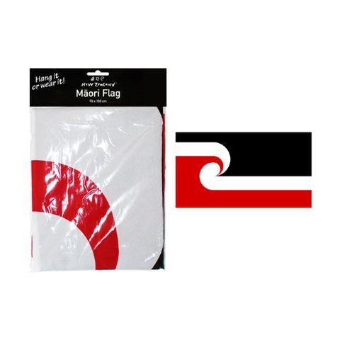 FLAG MAORI W 2 GROMMETS & VELCRO90X150CM