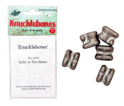 KNUCKLEBONES METAL VINTAGE