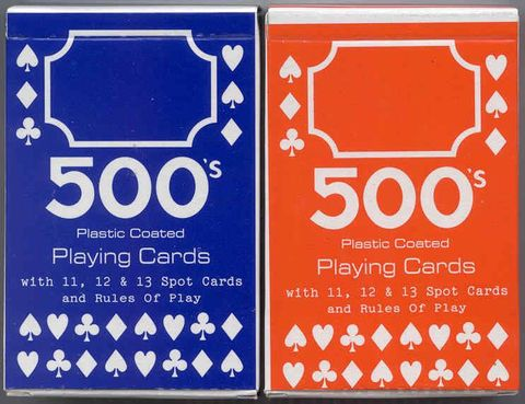 PLAYING CARDS 500