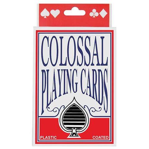 PLAYING CARDS JUMBO