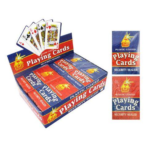 PLAYING CARDS EMU