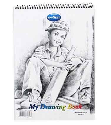 MY DRAWING BOOK A4 20LF