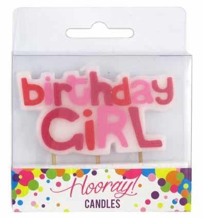 CANDLE BIRTHDAY GIRL