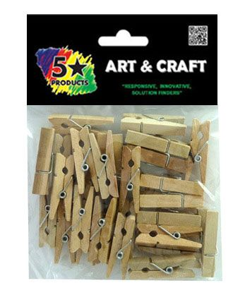PEGS NATURAL 30PC