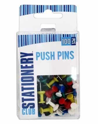 PUSH PINS 100PC