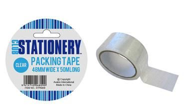 PACKING TAPE 48MMX50M CLEAR