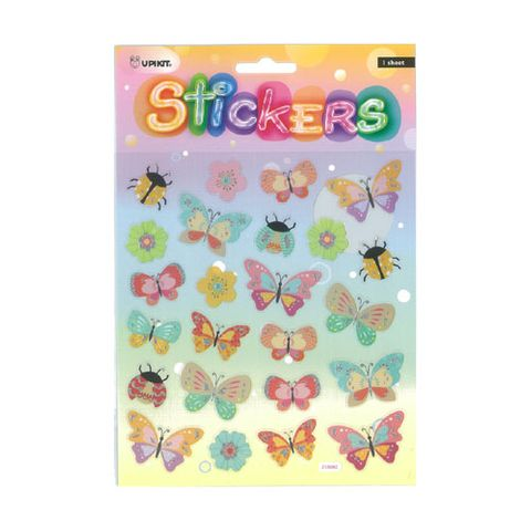 UPIKIT STICKER SPARKLY BUTTERFLIES^