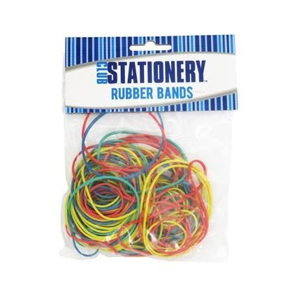 RUBBER BANDS 50GM PBH